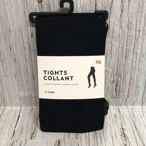 Women's black tights